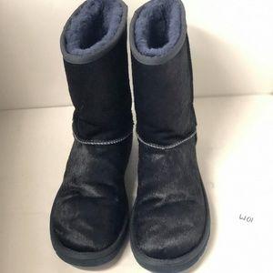 Ugg Australia Classic Short Exotic Boot in Black